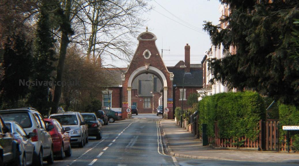 Westwood Hospital Gate House