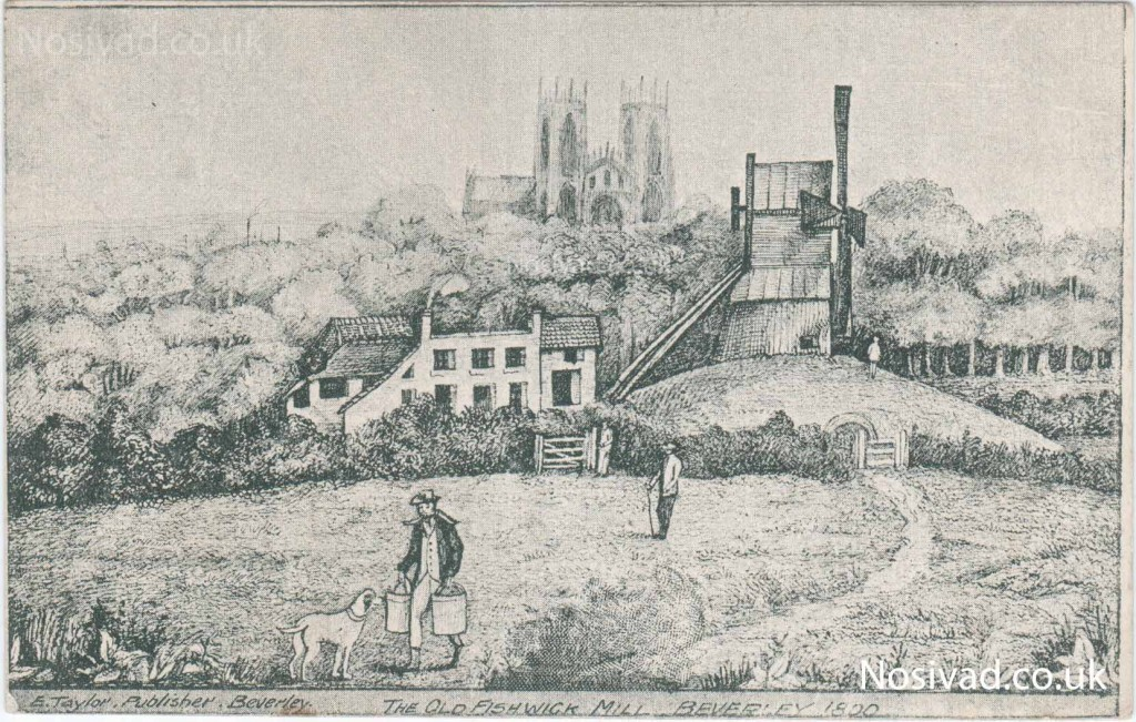 Fishwick Mill Beverley 1800 Publisher: E.Taylore Beverly